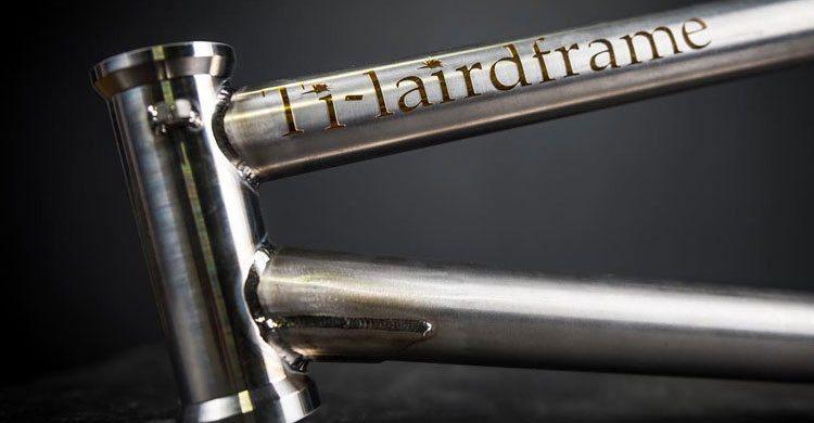 A $2,000 Titanium Frame By Laird Frame