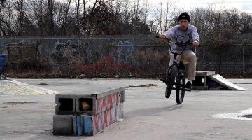 Anthony Panza – New York DIY Skatepark Session