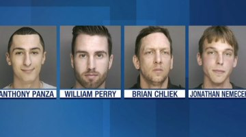 """Billy Perry and """"Gang"""" Arrested"""