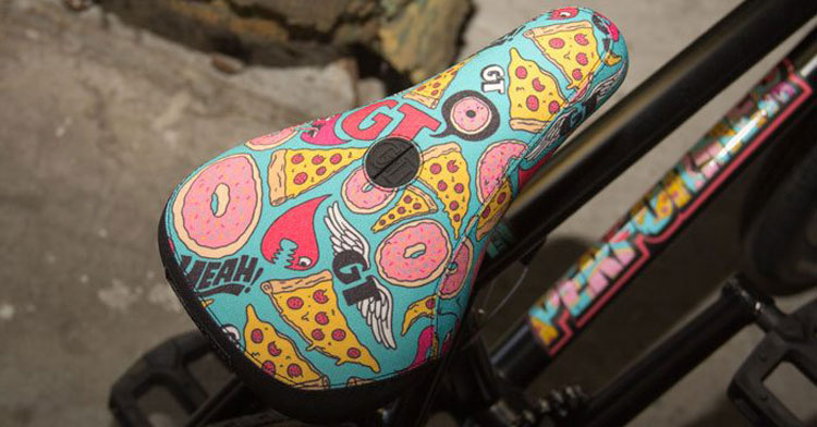 The Art of the BMX Seat
