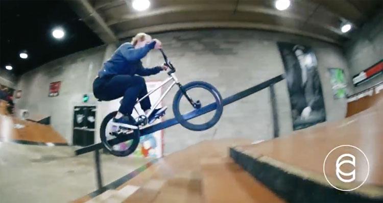 Cinema BMX – Corey Martinez and Nathan Williams at Sixth Ave Skatepark