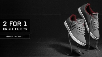 Etnies – 2 For 1 Fader Sale (This Weekend Only)