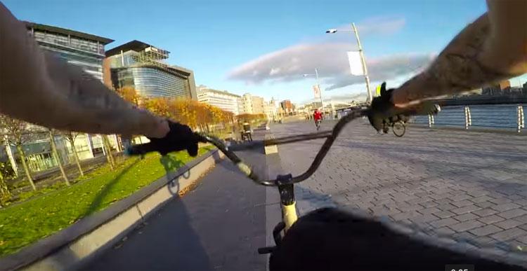 Kriss Kyle Rides Glasgow GoPro POV