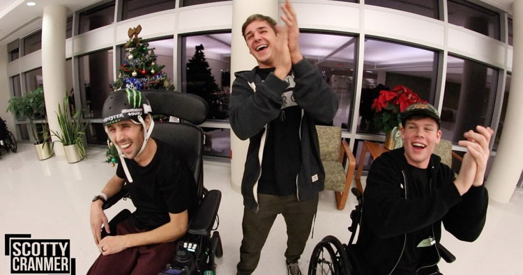 Scotty Cranmer Update + Wheel Chair Obstacle Course Challenge