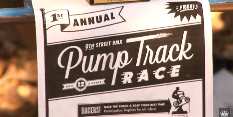 9th Street Pump Track Race
