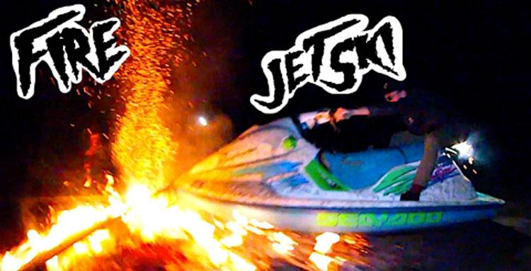 FloriDeah – Jetski Jumping Fire