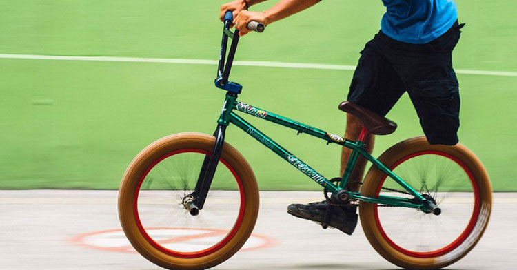 Red Bull - One Legged BMX Rider, Julian Molina