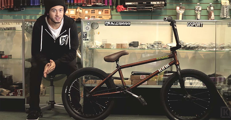 Kink BMX – Mike Garcia Video Bike Check