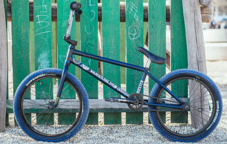 Kevin Kalkoff BMX bike check Subrosa The Shadow Conspiracy
