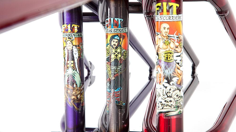 Fit Bike Co. Savage BMX Frames