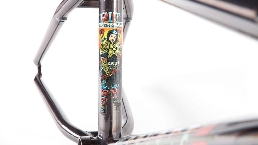 Fit Bike Co. Savage Frame Justin Spriet BMX