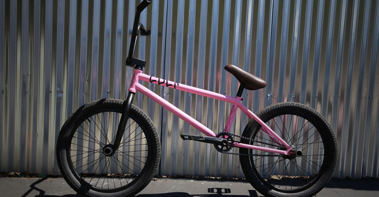 Cult – Grant Germain Pink AK Bike Check