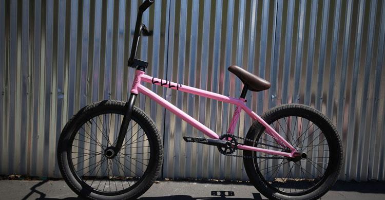 Cult – Grant Germain Pink AK Bike Check