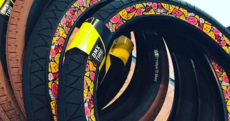 Sneak Peek: GT Bicycles - Junk Food Pool Tires