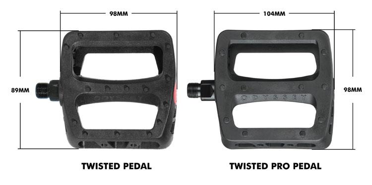 Odyssey BMX Twisted Pro Pedals