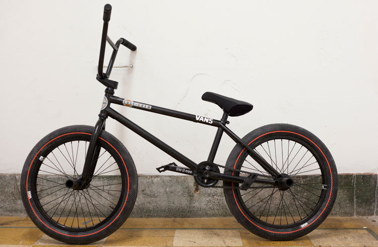 Ollie Shields BMX bike check Cult The Shadow Conspiracy