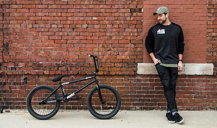 Jeff Klugiewicz BMX Bike Check Profile Racing