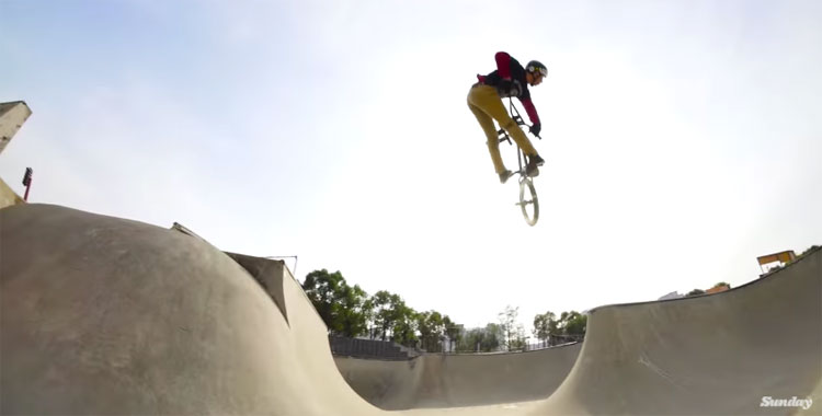 "Sunday Bikes – Gary Young ""Grow Up"" Section"