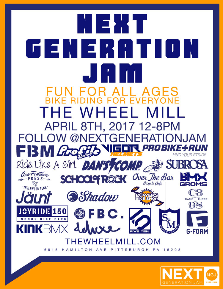 The Wheel Mill Next Generation Jam
