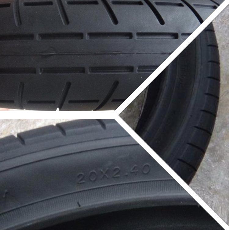 Alone BMX Patt 2 Tire Sneak Peek