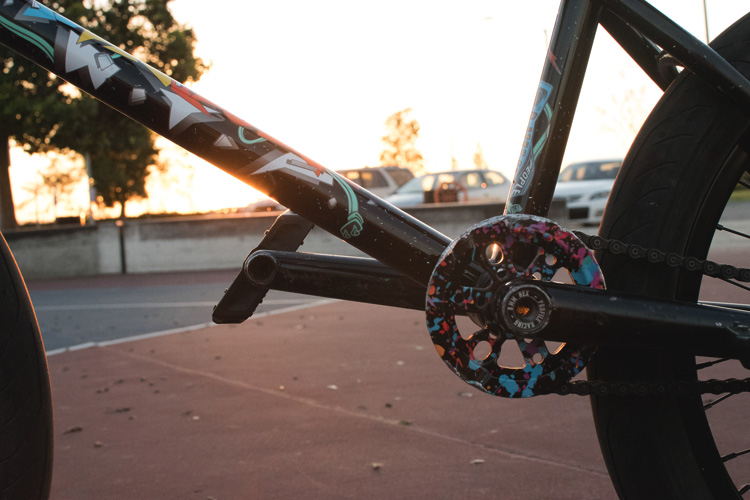 Dan Kruk BMX Bike Check Wethepeople Battleship
