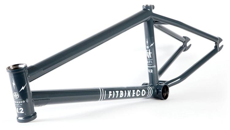 Fit Bike Co. WiFi V2 BMX frame Dark Grey