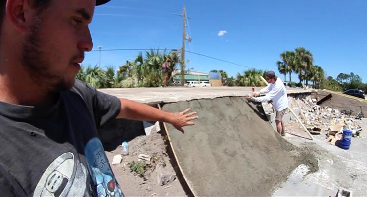 How To Build A Concrete Quarterpipe – FloriDeah DIY
