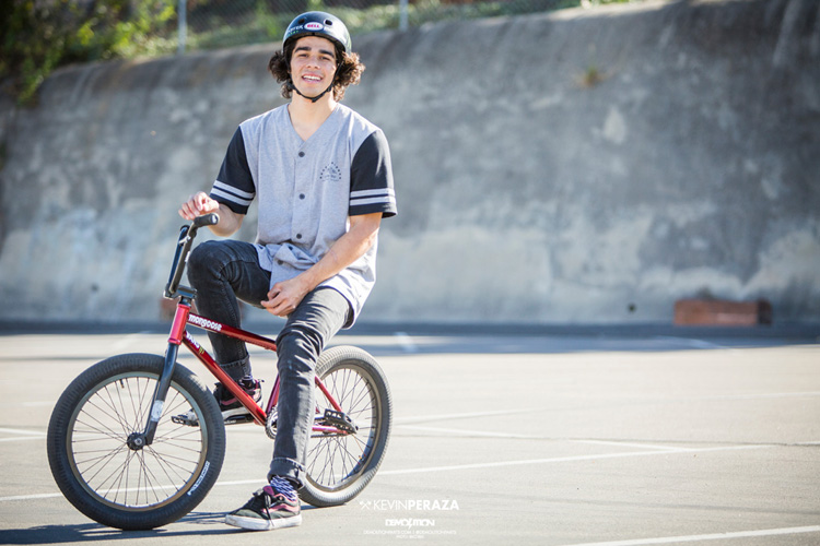 Kevin Peraza Demolition Parts Pro Team BMX
