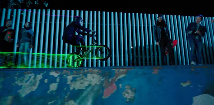 Kris Fox In A Brisk Commercial