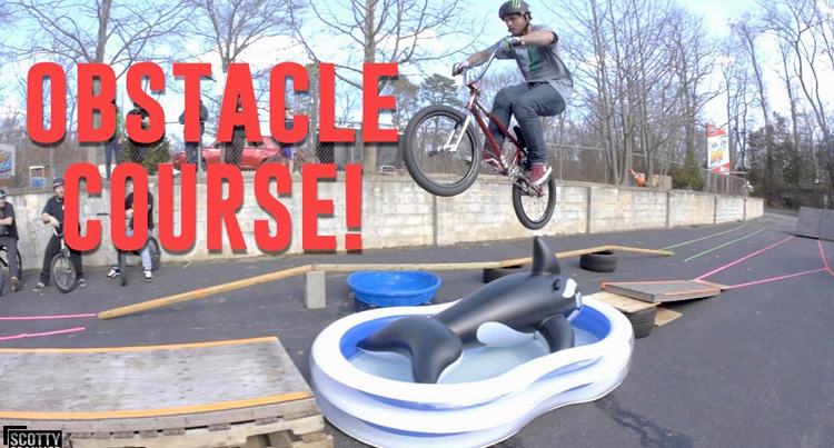 Scotty Cranmer – Insane Bike Obstacle Course