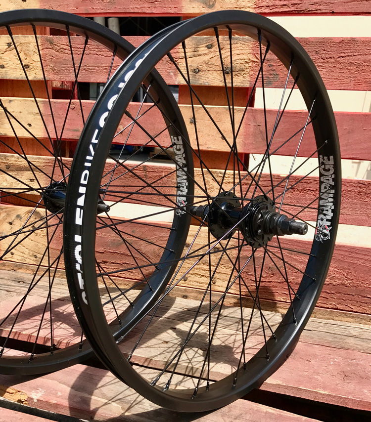 "Stolen BMX 22"" Bike Wheels Rampage"