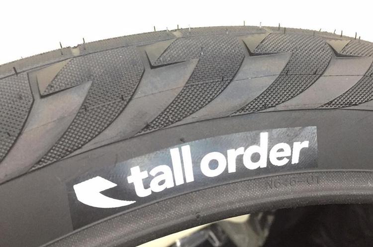 Tall Order Wallride BMX Tire
