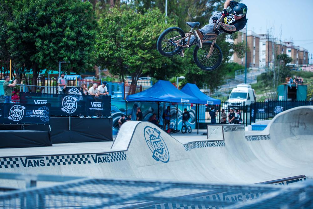 Vans BMX Pro Cup Malaga - Ben Wallace Lookback