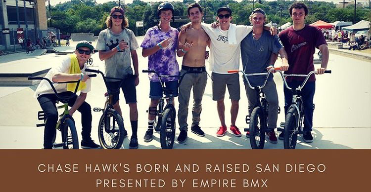 "Chase Hawk ""Born and Raised"" San Diego Flyer"