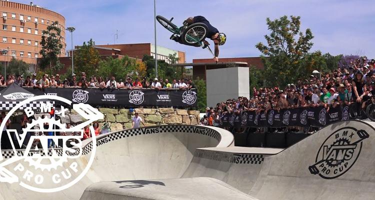 Chase Hawk's Vans BMX Pro Cup Malaga Winning Run