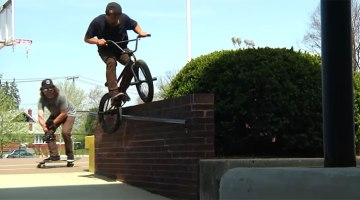 In The Cut District of Cinema BMX