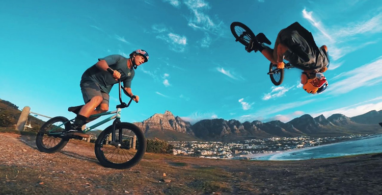 GoPro – BMX In Cape Town with Murray Loubser