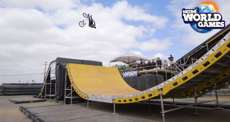 2017 Nitro World Games BMX Triple Hit Qualifying Results and Highlights