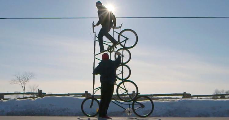 Red Bull – Tall Bike Revolution