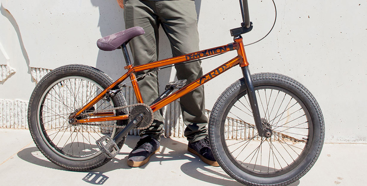 "Demolition Parts – Ryan ""Biz"" Jordan Bike Check"