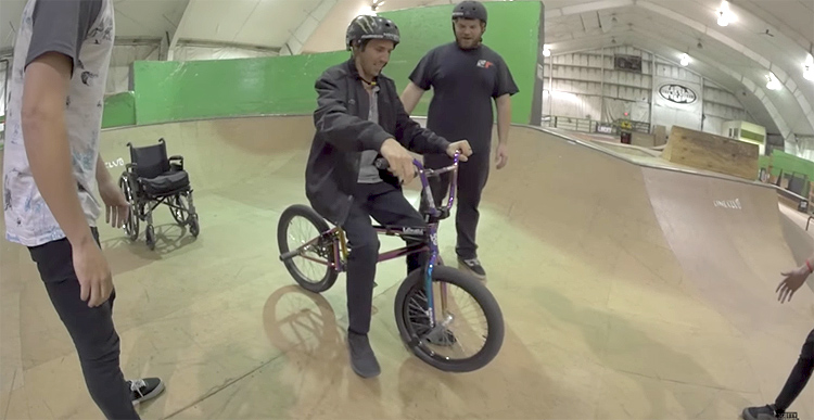 Scotty Cranmer – First Skatepark Ride Since the Accident