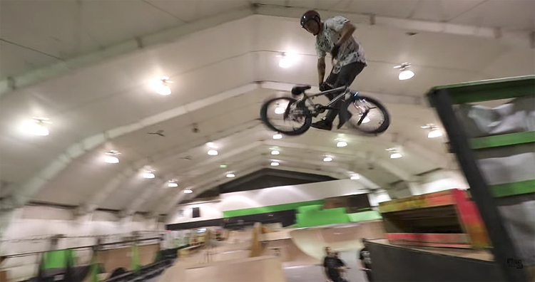 Scotty Cranmer – Bike Tricks on the Rainbow Ramp