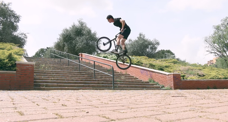 Eclat  BMX – Jordan Godwin: From Wales to Spain