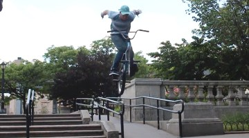 Matt Ray New York City BMX video