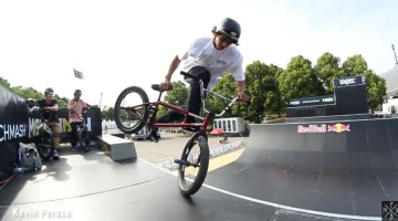 Munich Mash 2017 BMX Spine Ramp Practice Video