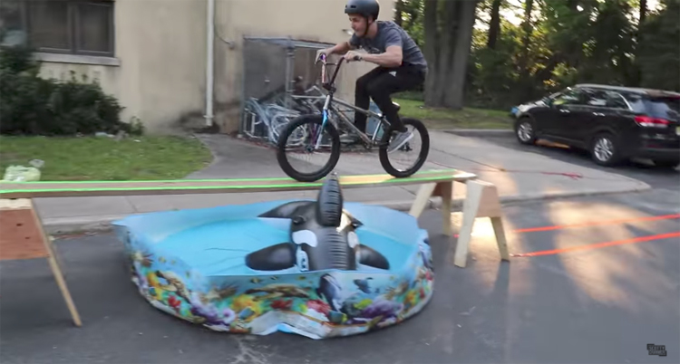 Scotty Cranmer – BMX Obstacle Course Challenge