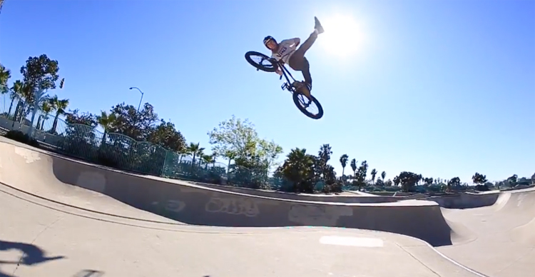 SE Bikes - Matt Cordova SoCal Bowl Thrashing