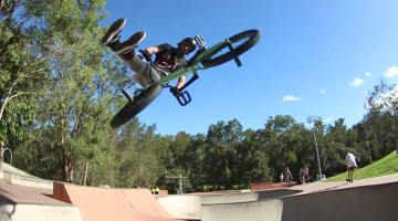 Alec Danelutti BMX Video Australia