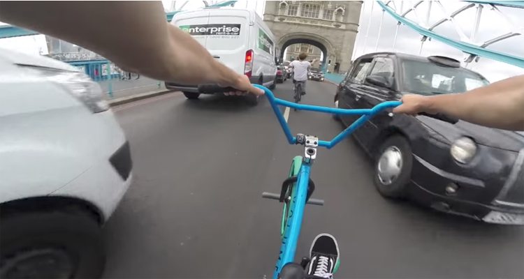 Billy Perry – Riding BMX In London