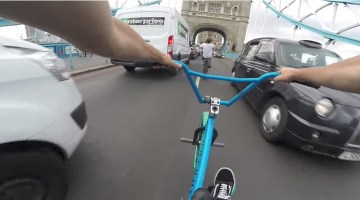 Billy Perry Riding BMX In London